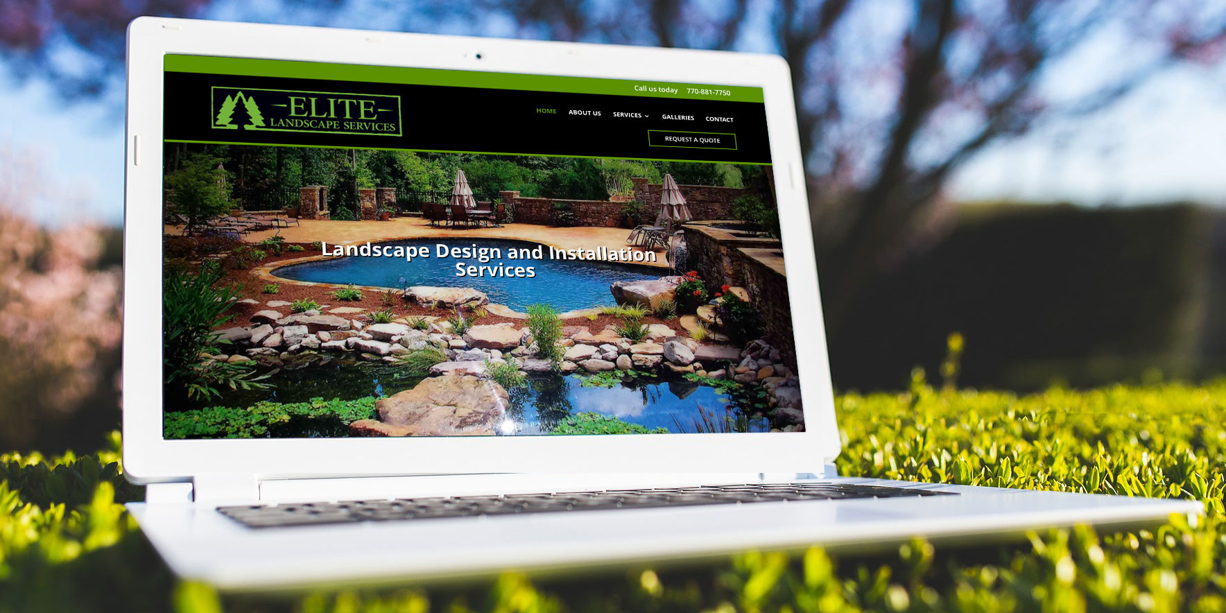 Elite-Website-laptop